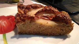 Torta light avena pere e yogurt greco s/z